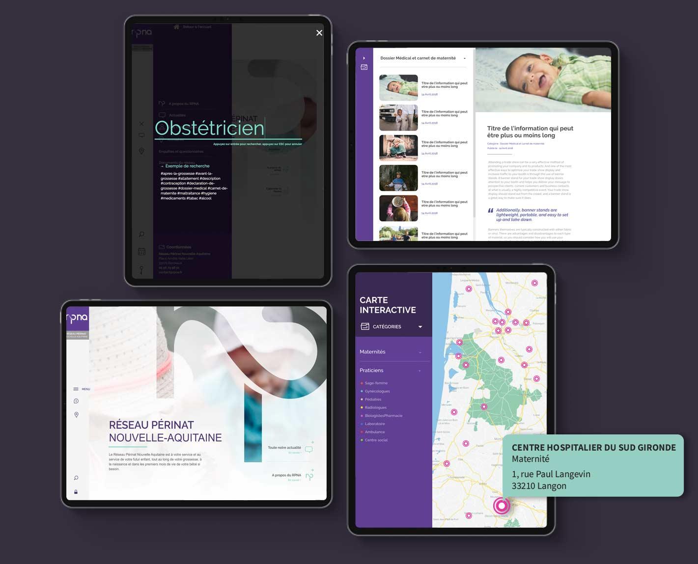 creation site internet medical bordeaux